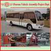 30 Seats Diesel Engine Price Brand New Toyota Style Coaster Mini Bus