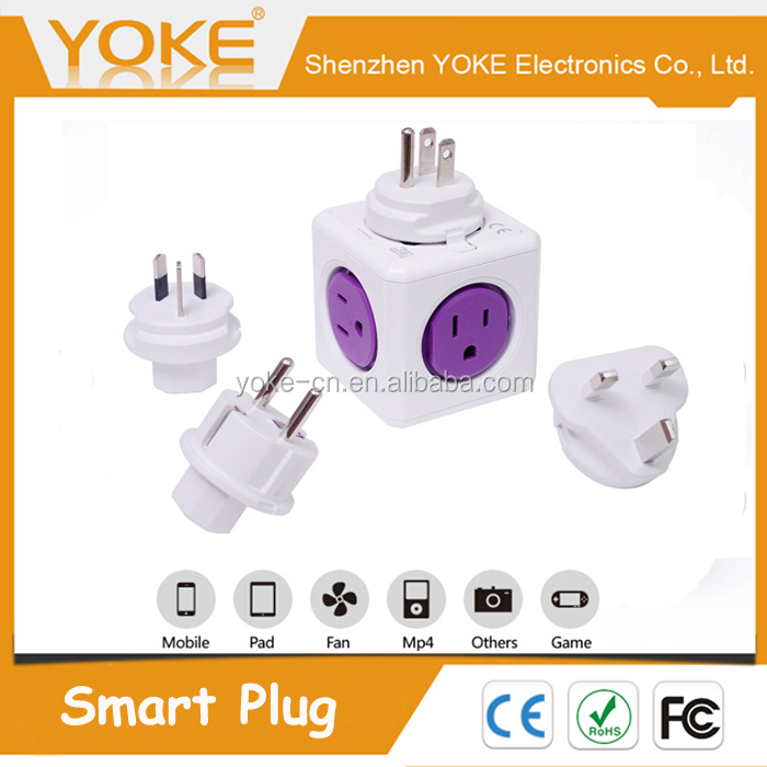 Magic PowerCube US SOCKET Smart Power Plug with 5 outlets