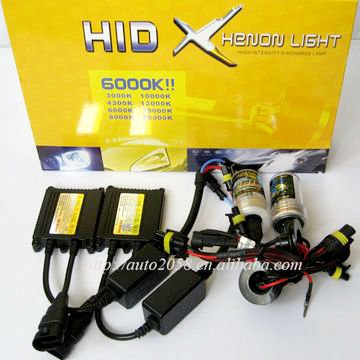 12v 55w high quality h4 h7 h1 xenon hid headlights SINGLE/DUAL BULBS