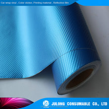 Self-adhesive car wrapping 3d carbon folie