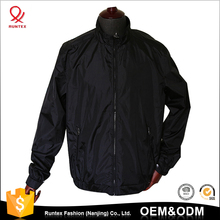 Chinese clothing manufacturers men blank windbreaker waterproof sport anorak Jacket