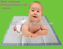 Excellent quality disposable baby care underpads