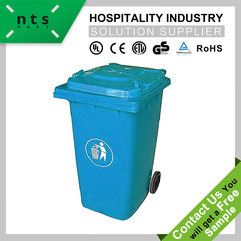 frie-resistant outdoor turning cover dustbin