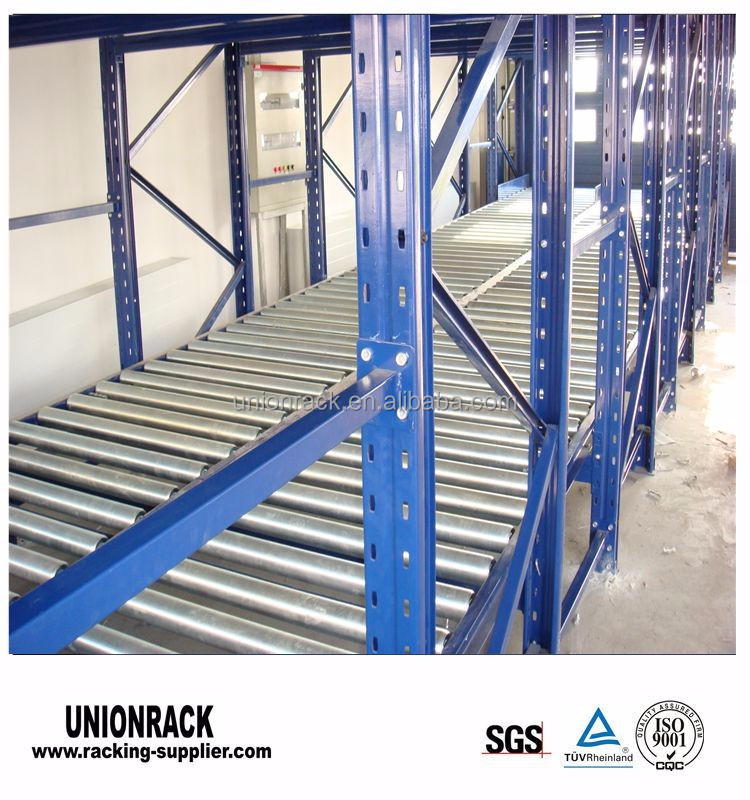 Factory Sell Time-Saving Heavy Duty FILO Gravity Roller Rack