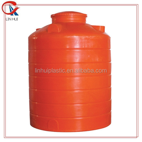 1000ltrs vertical round flat bottom UV resistence roof water tank for sale