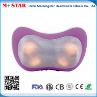 Wholesale 2015 Hot Selling Electric Car Neck Massager Pillow LC-Q087