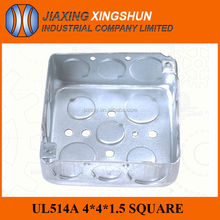HOT SALES square galvanized steel 4x4 electrical cable box