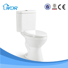 Wc Ceramic Siphonic Two Piece Water Closet W8058A
