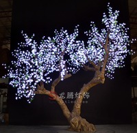 RGB America style led cherry blossom lighted trees