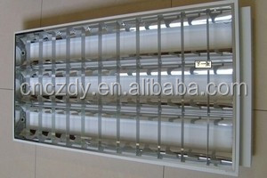 fluorescent lamp Good quality office ceiling light energy saving fluorescent light fixture plastic cover