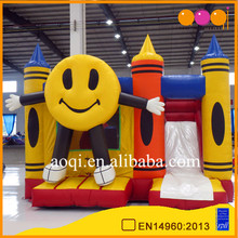 LaughingMan hot sell commercial sports Inflatable Combo/kids playing equipment