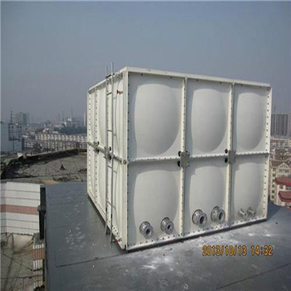 smc water tank with elevated steel fiberglass frp sectional water tank best quality grp water tank uae