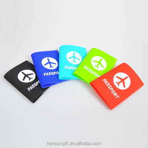 Promotion Cheap Soft PVC Passport card Holder