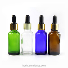 USA market e liquid 5ml 10ml 15ml 20ml 30ml 50ml 100ml clear amber green blue glass dropper bottle