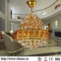 C98109 crystal chandelier replacement parts,modern design pendant lamp,crystal light chandelier