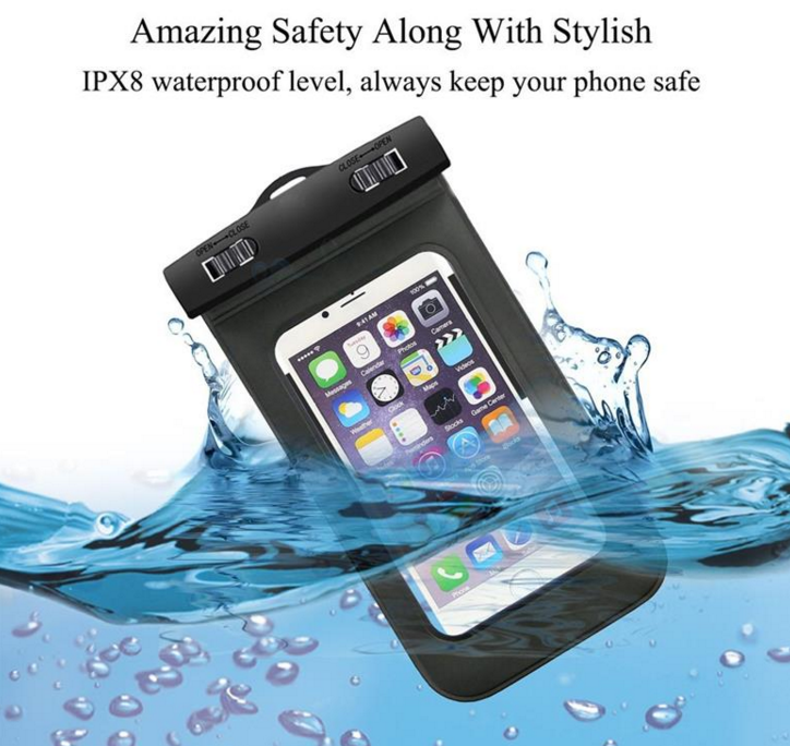 OEM PVC waterproof pouch for iPhone 6 ,Compatible Brand Waterproof Underwater Pouch for iphone 4 4s