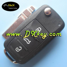 Wholesale price 3 button for vw passat remote key with code 5K0 959 753 AC/753AL 202AN