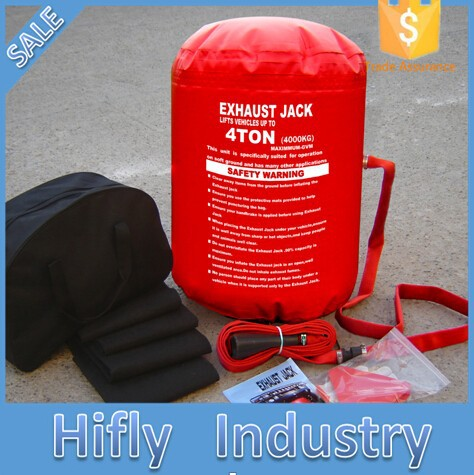 NJW-21 4 Ton NEW ARRIVAL Exhaust Air Jack car bag Inflatable car air jack ( CE certificate )