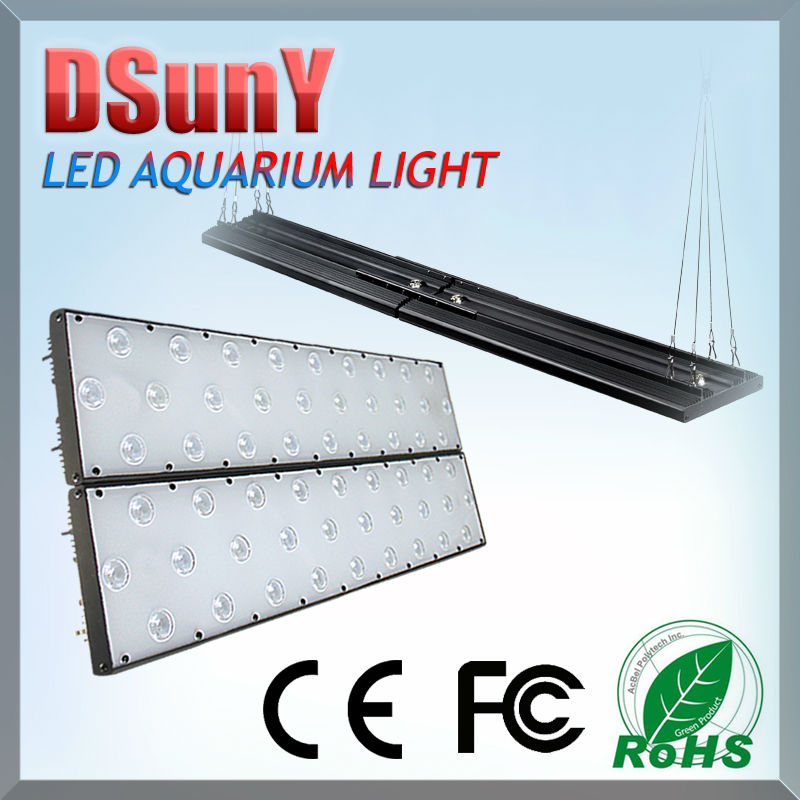 "Hot Sale for coral reef aqarium with sunset sunrise lunar cycle 30/60/90 degree optics 24"" marine cynthia led aquarium light"