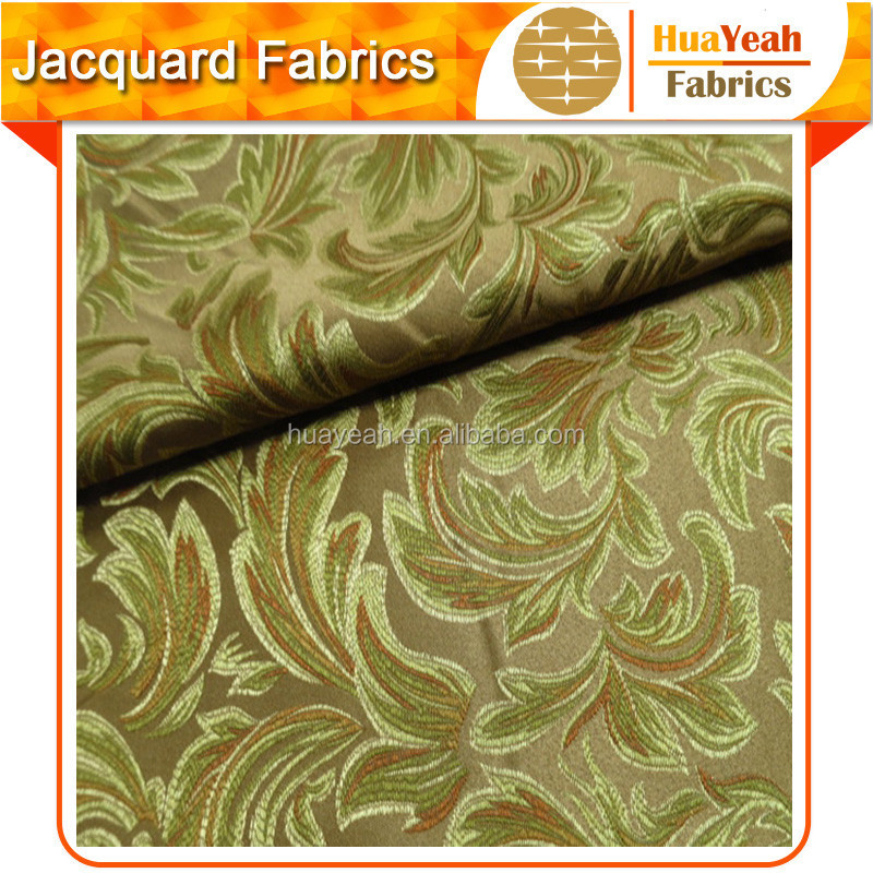 Classic upholstery cloth for curtain textile fabric jacquard