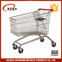 European style supermarket electric shopping cart trolley