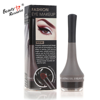 private label fashion makeup cosmetic waterproof longlasting eyeliner gel for lady