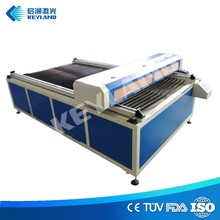 China KEYLAND 4x8 Veneer Plywood Laser Cutting Machine 1325 Price Good with Flat Bed