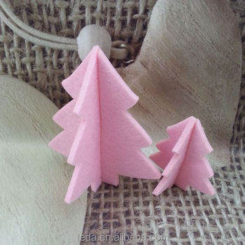 Professional manufacture artificial mini felt christmas tree
