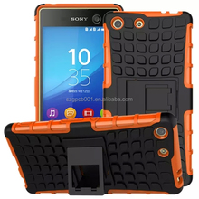 For SONY XPERIA M5 DUAL E5603 Armor CASE Heavy Duty Hybrid Rugged TPU Impact Kickstand Hard ShockProof CASE OUT DOOR CASE