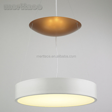 Acrylic chandelier parts 33W led hang lamp lighting fittings for rooms