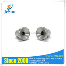 CNC Machining Stainless Steel Knobs Electronic Knob With Polishing