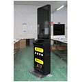 43 inch Standing Android Cell Phone electric vehicle Charging Station Kiosk