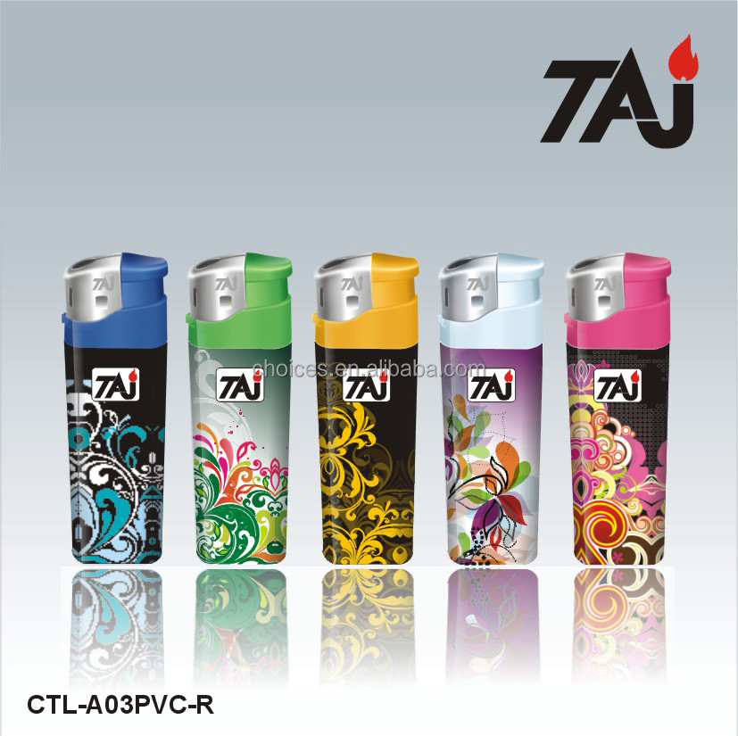 TAJ Brand Plastic piezoelectric gas cricket Lighter