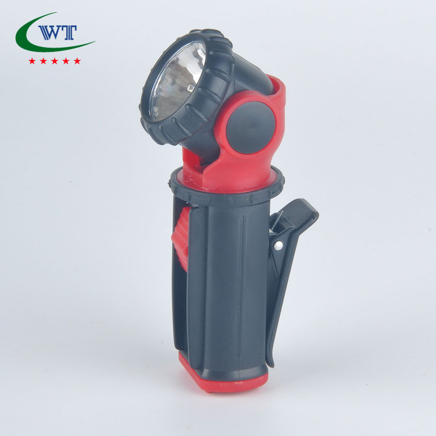 360 Swivel Head Rotates Torch Lights Led Flashlight