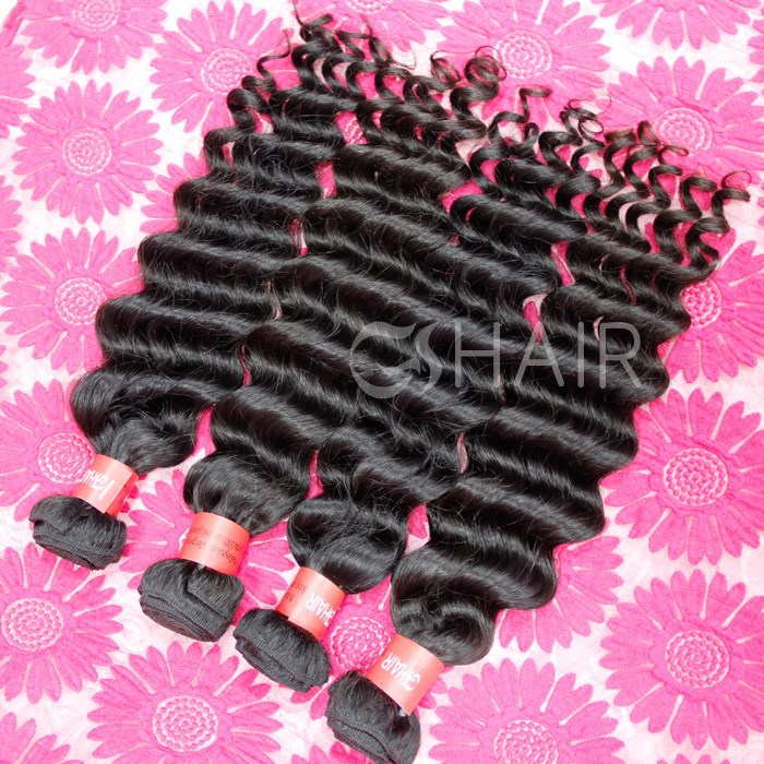 unprocess wholesale virgin malaysian hair product in China