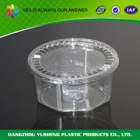 Transparent disposable small packaging box