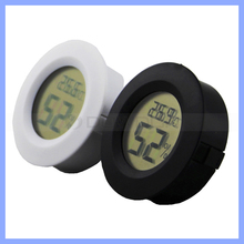 Mini Digital LCD Round Thermometer Temperature Sensor Fridge Freezer Thermometer