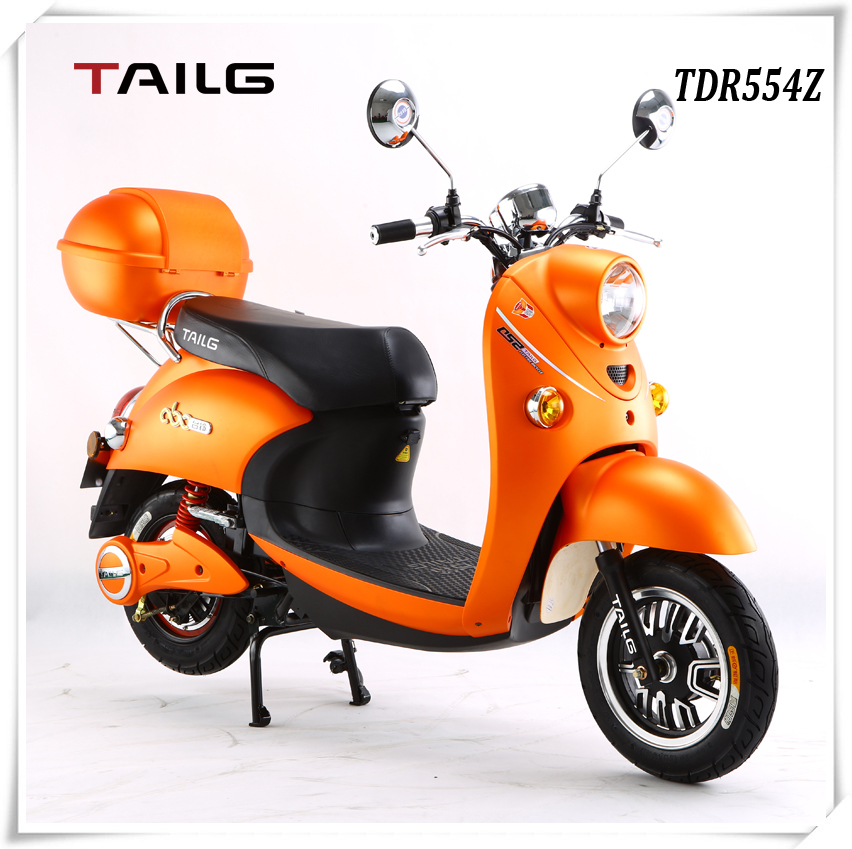 tailg 800w orange steel luxury scooter electric with pedals for sales