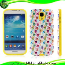 Water print PC TPU case for Samsung S4 I9500 cell phone case