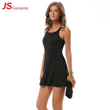 JS 20 Black Latest Short Sexy Nighty Party Dress Hot Selling For Fat Women 9007