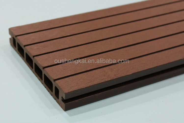 Wpc co extrusion hot sale outdoor decking floor wholesale for Cheap decking boards for sale