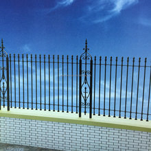 High quality luxury decorative wrought iron fence designs