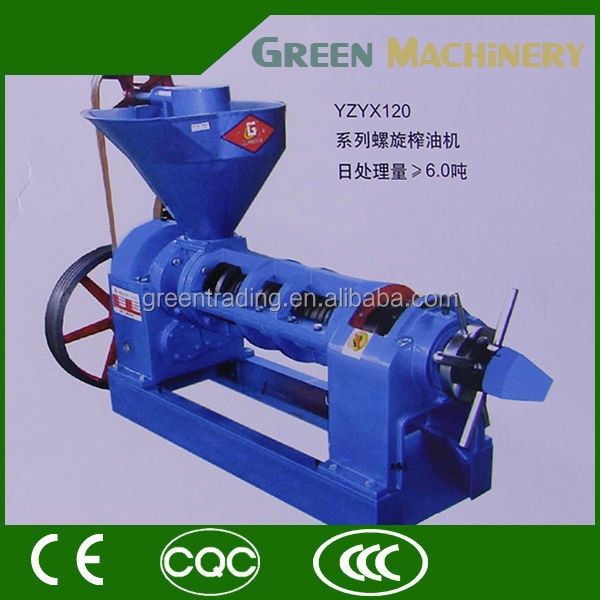 Hydraulic coconut screw types of press machine