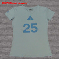 OEM ladies sport t-shirts online shopping