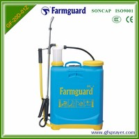 high quality easy oprated knapsack manual sprayers with PP plastic chemical tank