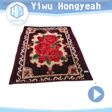 Customized digital printed wholesale blanket korean blanket