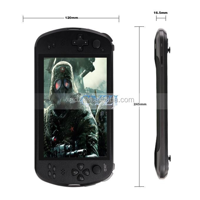 "quad-cose smart JXD S7800b 7"" Game Console Player tablet pc JXD S7800B S7800 gamepad Android 4.4.4 2G RAM 16GB 1280X800 IPS"