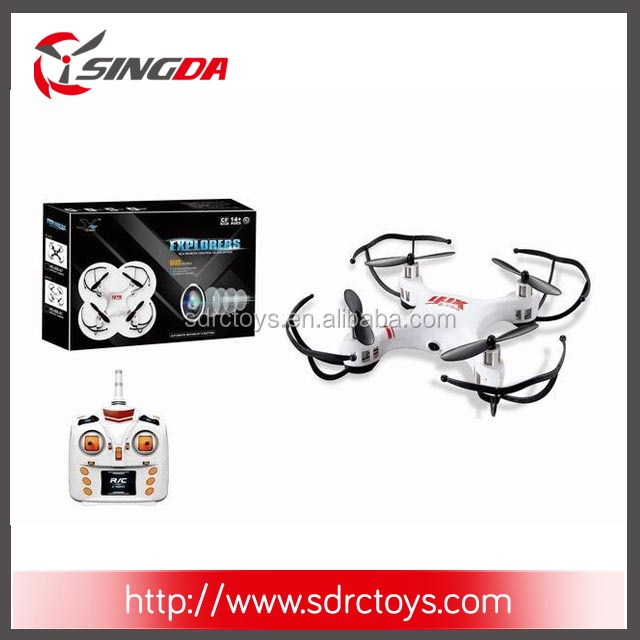 668-A7L 2.4ghz Small Size RC quadcopter with 2MP camera 6CH hovering UFO with light and 360 Degrees Flip