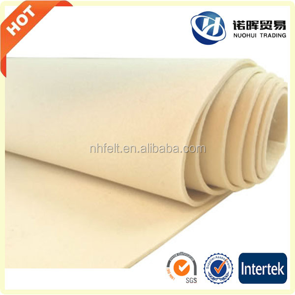 Soft industrial wool felt manufacturer