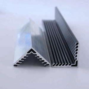 deep processing / fabricated CNC aluminium alloy extrusion profiles factory